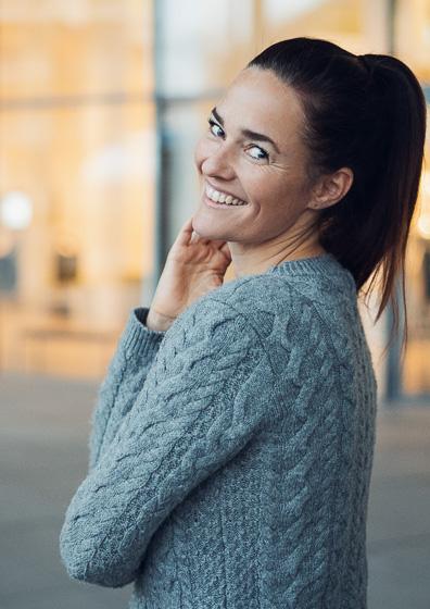 Bild einer Single Frau aus München von Tinder Fotograf München